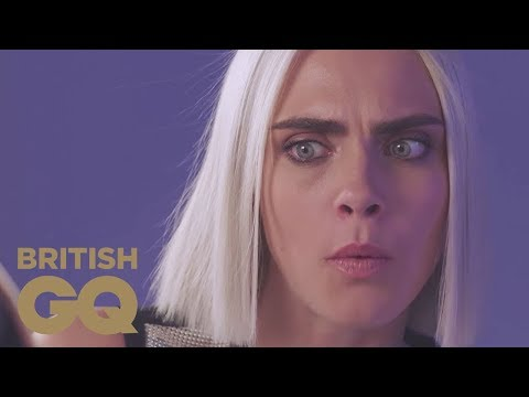 Cara Delevingne Gives Interviewer Electric Shocks! | GQ Cover Stars | British GQ