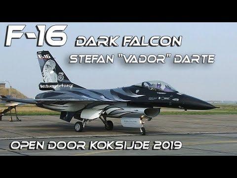 "F16 4K UHD F-16  Stefan ""Vador"" Darte from before start till after finish"