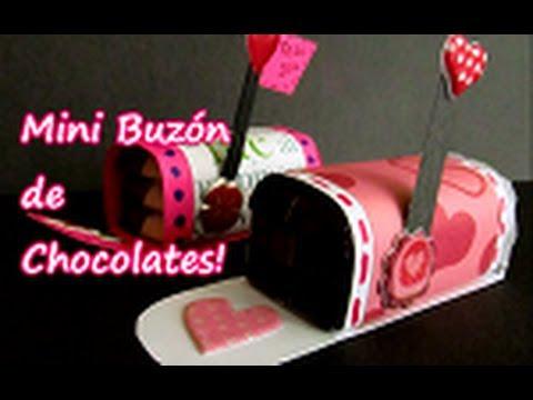 Mini buz n de chocolates para san valentin youtube - Manualidades para hacer en san valentin ...