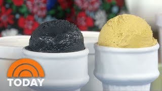 Charcoal Ice Cream? Get The Scoop On Wild And Wacky New Trends | TODAY