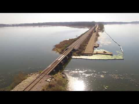 April 2016: Lower Yahara River Trail Construction