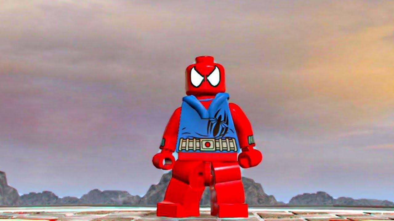 Lego Marvel Superheroes Scarlet Spider Traffic Club