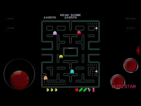 Pac-Man Plus Arcade Gameplay Part 1
