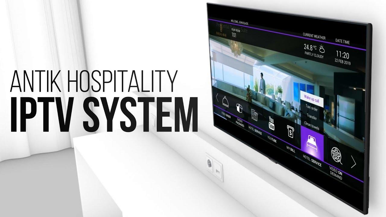 HOSPITALITY(Hotels) > Hospitality IPTV Suite /// ANTIK Technology
