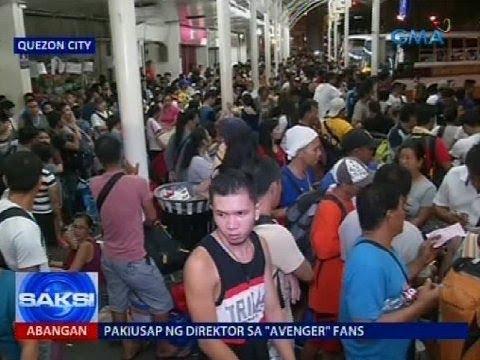 Saksi: Ilang pasahero, mainit na ang ulo dahil sa tagal ng dating ng mga bus