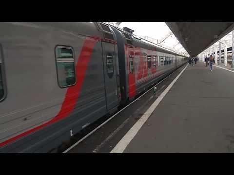 Санкт - Петербург - Самара. Отправление. Московский вокзал