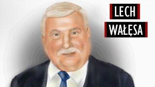 Lech Wałęsa (Solidarność) - Szybkie Malowanie #11 [Kocham Rysować]
