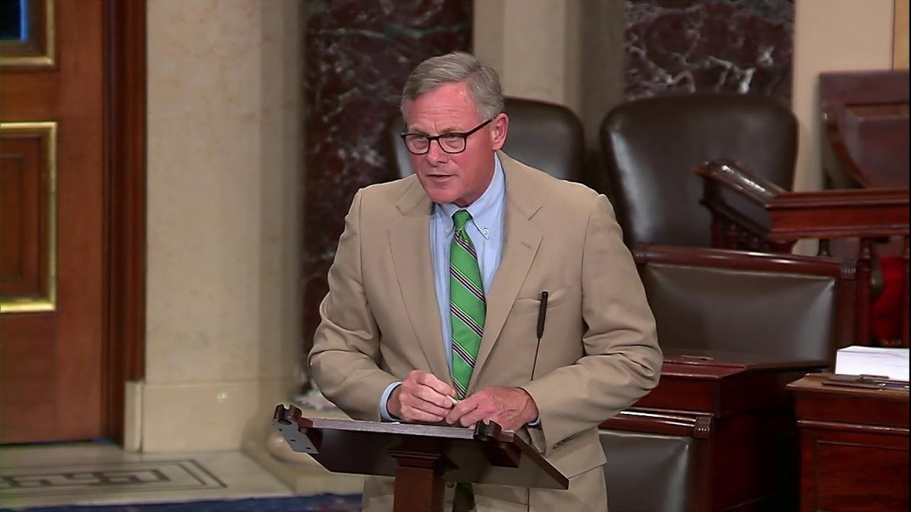 Senator Richard Burr Floor Speech on the Intelligence ...