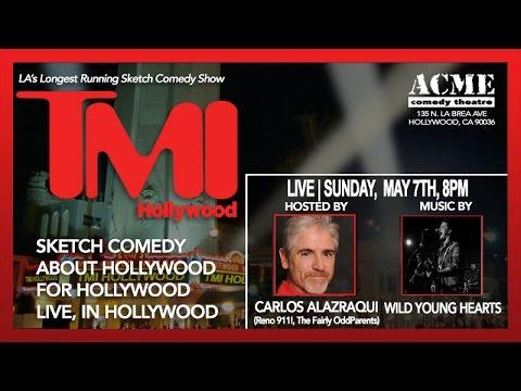 Carlos Alazraqui hosts TMI Hollywood, this Sunday, May 7th!