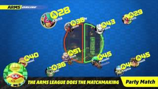 ARMS - Grand Prix, Online & Local Multiplayer Detailed (Nintendo Direct