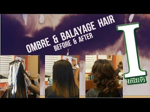 Ombre Balayage Hair Before & After | Beautiful Hair Color | Atlanta, GA | LF06