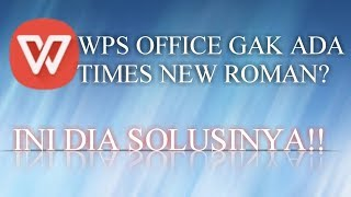 How To Font Install In Wps Office