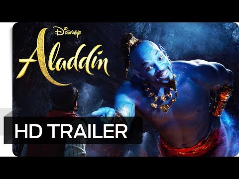 ALADDIN - Offizieller Trailer (deutsch/german) | Disney HD