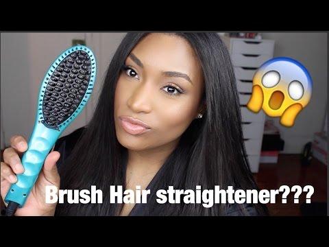 BRUSH HAIR STRAIGHTENER?? FIRST IMPRESSION - IRISBEILIN
