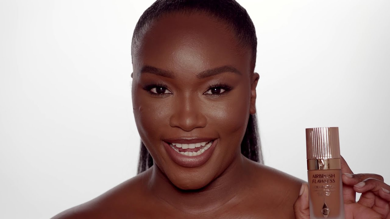 How to Apply Foundation For Flawless-Looking Skin: The Airbrush Flawless Routine   Charlotte Tilbury
