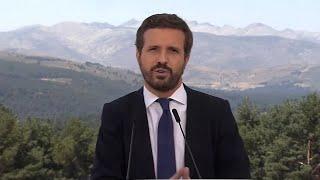 "Casado se erige en ""única alternativa"" frente a Sánchez"