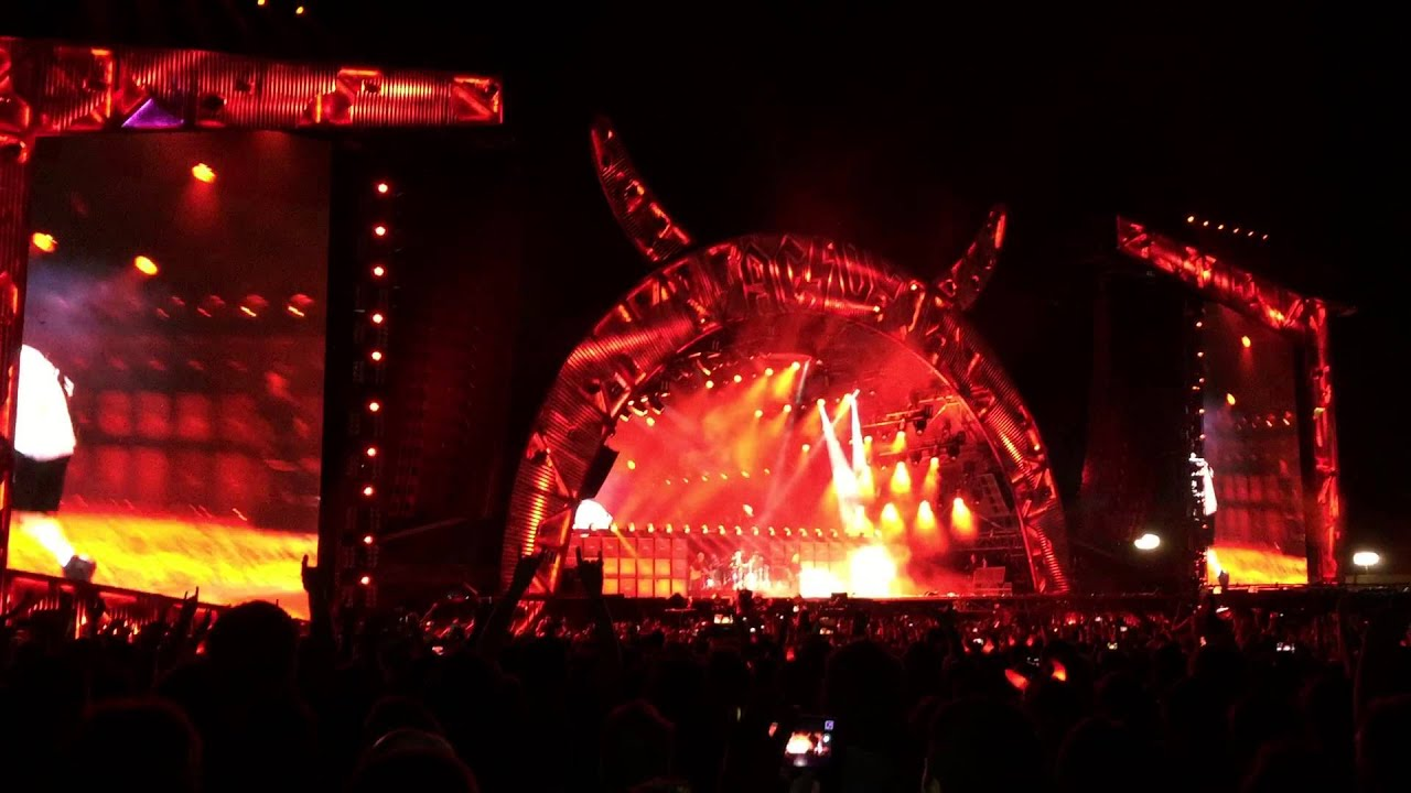 AC/DC - Angus Young solo - live in Zeltweg, Austria / Österreich - 14.5.2015
