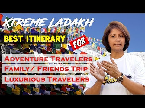 Xtreme Ladakh: Best Itinerary | Adventure Traveler | Family and Luxurious Trip | Road Trip | 2017