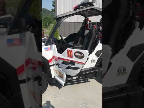 2019 Polaris General UTV warning package Lawrenceburg Speedway Fire- Rescue.