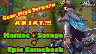 Video Build Gear Miya Terbaru Mobile Legend, Maniac + Savage + Epick Comeback download MP3, 3GP, MP4, WEBM, AVI, FLV April 2018
