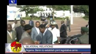 Nigeria and Benin Republic parliaments aim to hold joint sessions