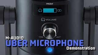 LET'S TEST IT #4: M-Audio Uber Mic (recording interface)