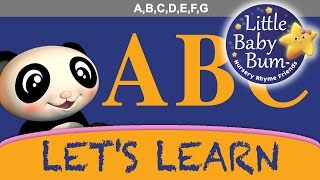 "Let's Learn ""The ABC Song""! With LittleBabyBum!"