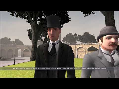 Sherlock Holmes Versus Arsene Lupin (Part 13): Capturing the