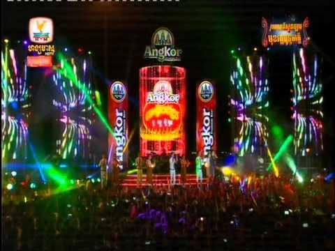 Sao Odom, Chong Kes Reang Reav, Hong Meas HDTV Concert, Water Festival Concert, 26 Nov 2015