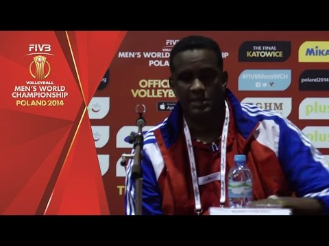 Cuba post match reaction with coach