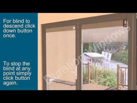 Electronic Integrated Blinds
