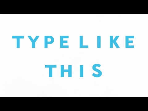 blue text - emoji letter keyboard - best app series - youtube