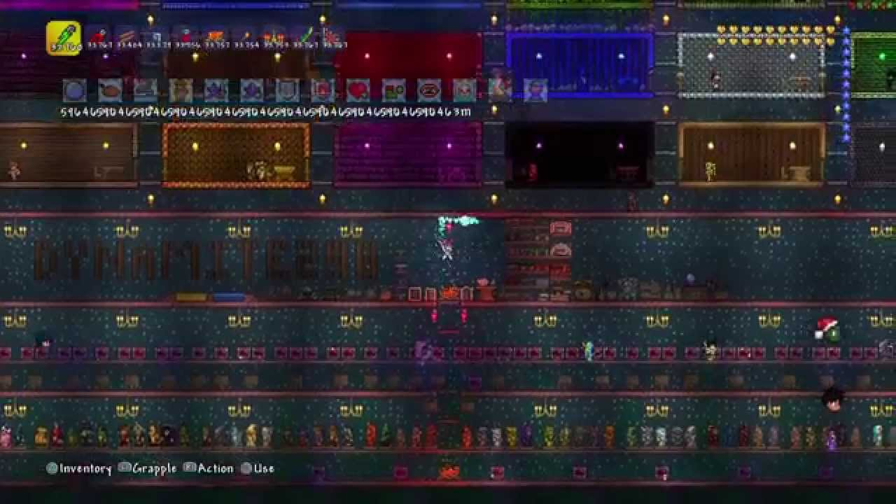 Terraria - All Modded Items World Download with Trophies {PS3/PS4}