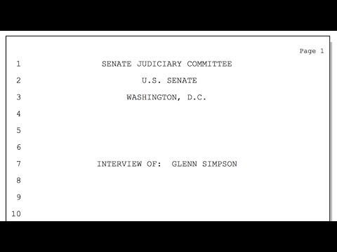 In Fusion GPS Testimony, More Questions Than Answers