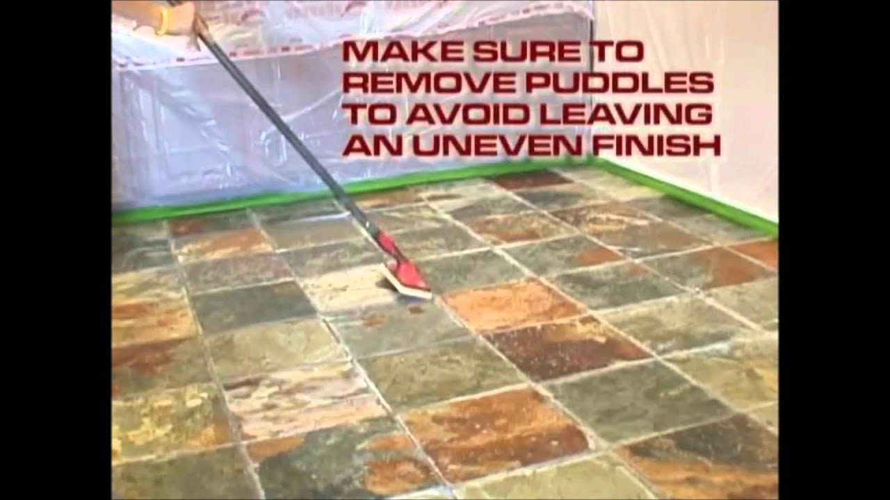 Modern Stone Shine Seal Sealer And Color Enhancement Youtube