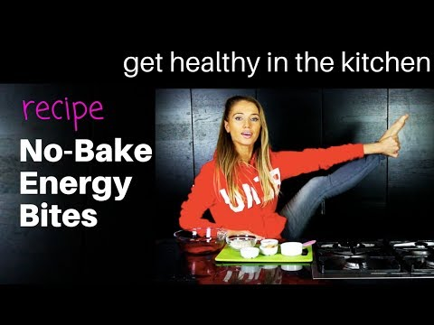 HEALTHY NO BAKE ENERGY BITES - EASY TO MAKE HEALTHY RECIPE