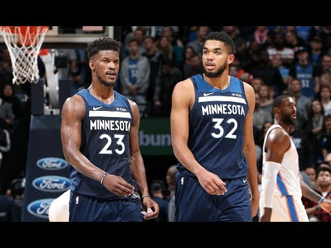 Jimmy Butler & KAT Lead the Wolves to a Victory Over OKC | October 27, 2017