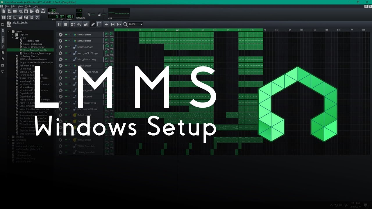Getting Started with LMMS on Windows