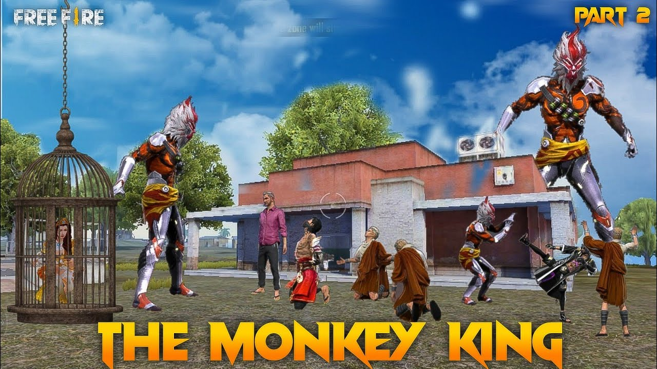 The Monkey King 🐒 Part 2 [ अनोखा जानवर ] Free fire Story in Hindi || Free Fire Story