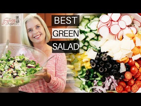 Tossed Green Salad Recipes For A Crowd | EASY PEASY