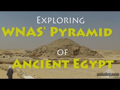 Outside WNAS pyramid (unas) - Pukajay Productions