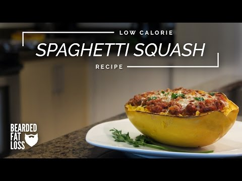 Spaghetti Squash With Meat Sauce | BFL Recipes
