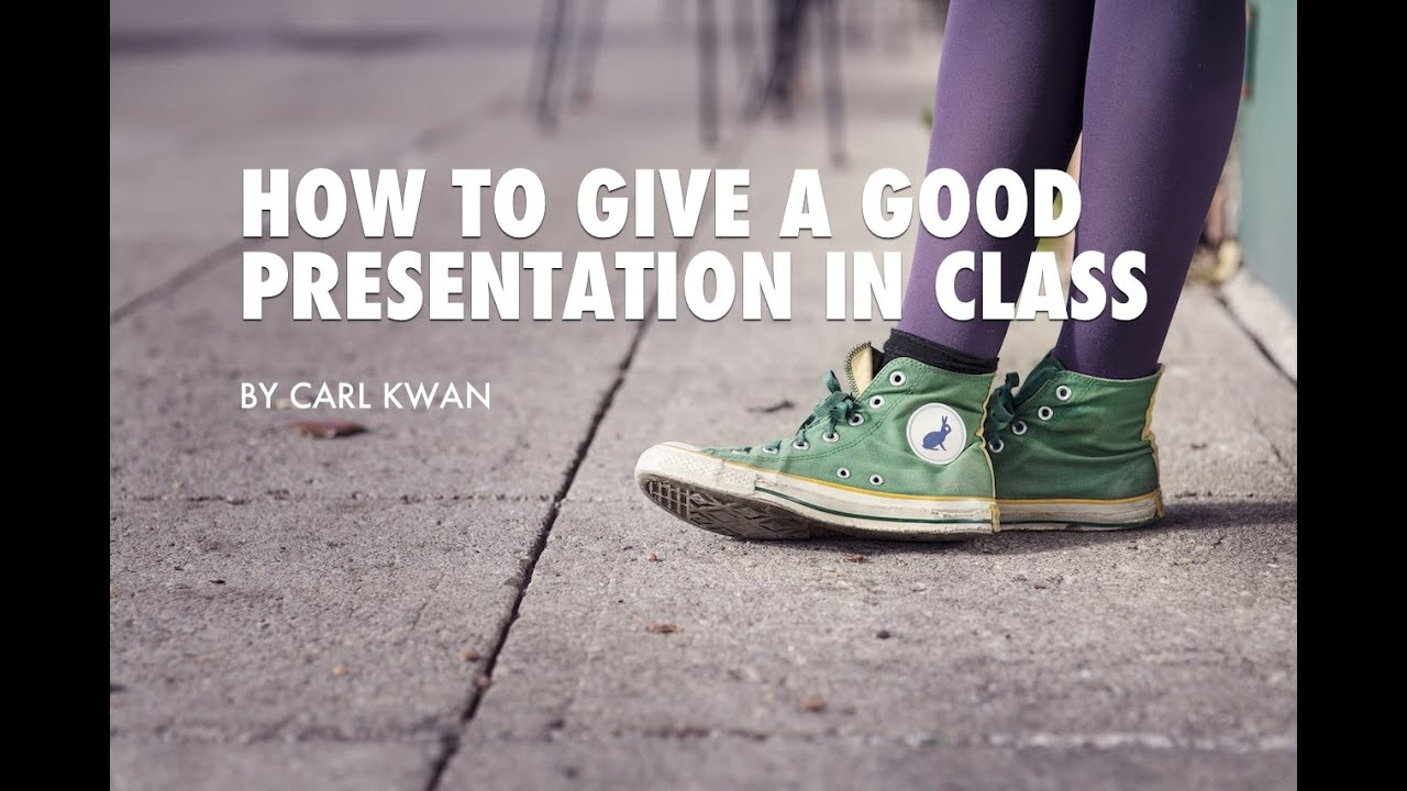 how to make a class presentation fun