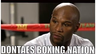 MAYWEATHER: I WILL FIGHT MANNY PACQUIAO WHEN.....