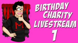 Birthday Charity Livestream | Part 1 | BROFORCE AND SILLINESS
