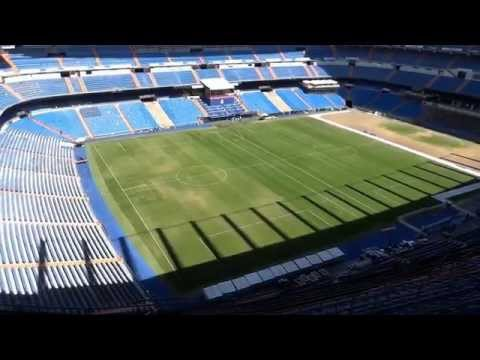 Estadio Santiago Bernabéu - stadium tour