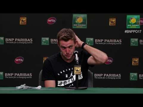 BNP Paribas Open 2017: Jack Sock 4R Press Conference