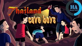 Thailand cave rescue: Boys trapped in thai cave || explained in telugu || by Harsha asam