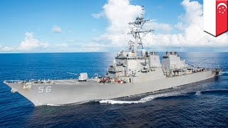 Missing sailors: USS John McCain collides with oil tanker near Singapore, 10 missing - TomoNews
