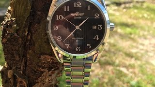 GuTe Classic Mechanical Automatic Watch Overview